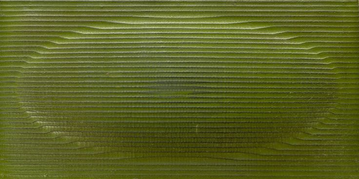Oval Up Texture in Lime Green.
