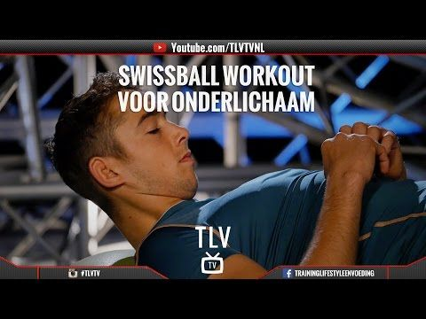 Swiss ball workout voor onderlichaam - YouTube