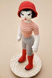 Crochet Dolls Hat Pattern : 17 beste afbeeldingen over Amigurumi op Pinterest ...