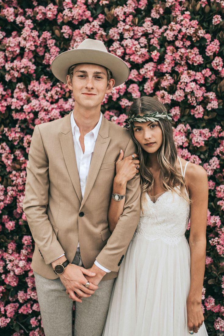 Die neue Blumenkrone: Grüne Kronen   – Bohemian Chic Wedding 2020
