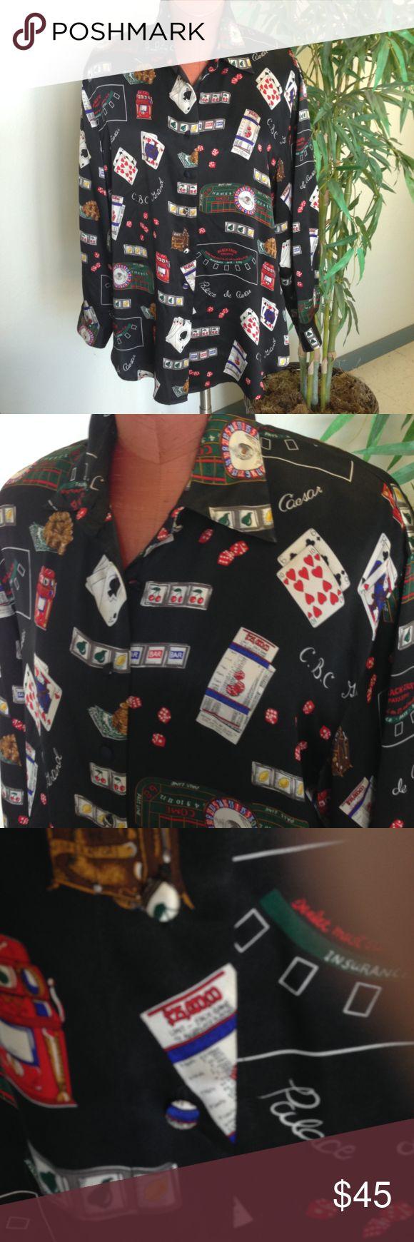 Wooden roulette buy black wooden roulette blackjack table led - Corey B Vintage Plus Size Silk Blouse