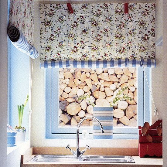 How to make a kitchen blind