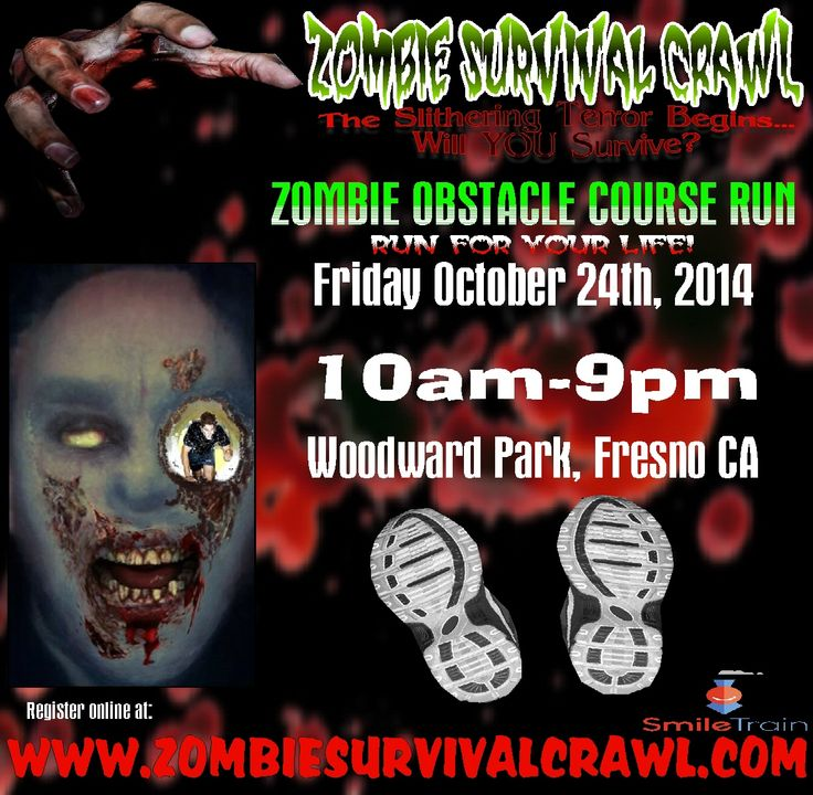 11 Best Zombie Survival Crawl Amp Halloween Festival Images