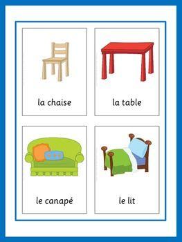 French Flashcards - Basic Vocabulary