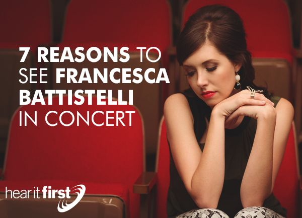 Francesca Battistelli has been on the Christian music scene since releasing her first album, Just a Breath, in 2004.