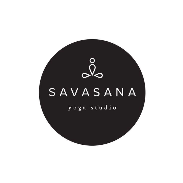 Yoga logo. Premade logo design for $35. Customize this wellness logo to meet your business needs.