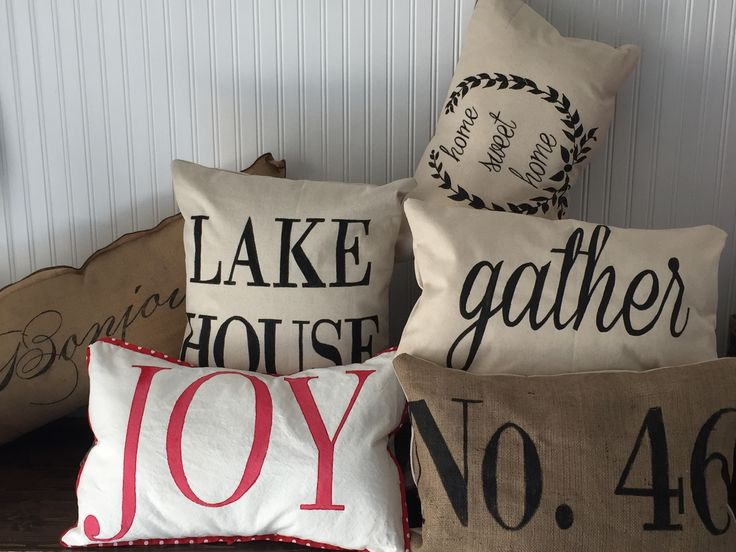 throw pillows gather, JOY, Lake house, Christmas, Thanksgiving