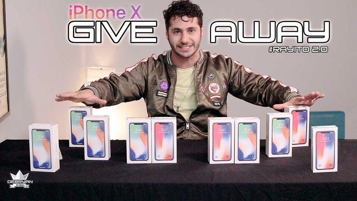 ► Te Regalo 10 IPhone X | Sorteo Internacional | Giveaway | #Rayito
