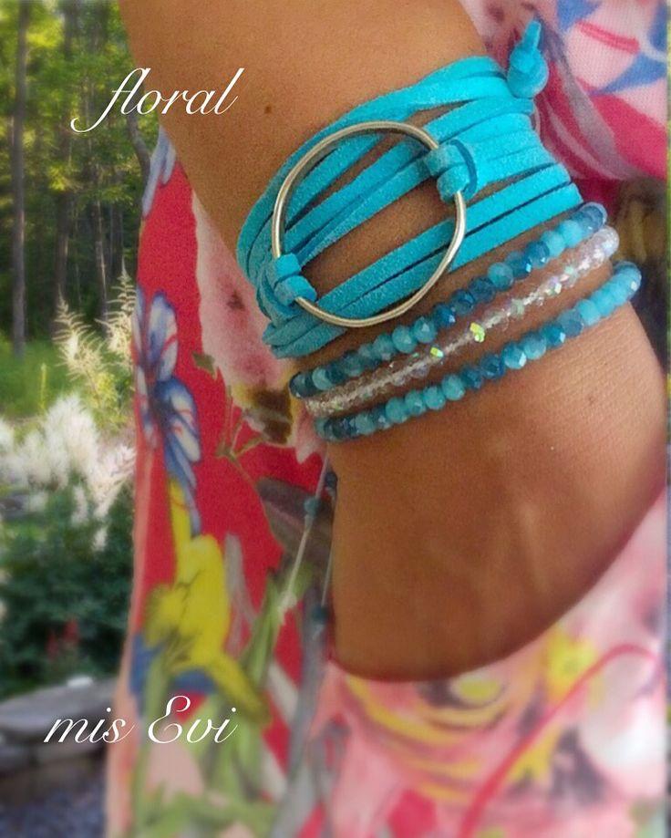 Floral!!!! Handmade bracelets