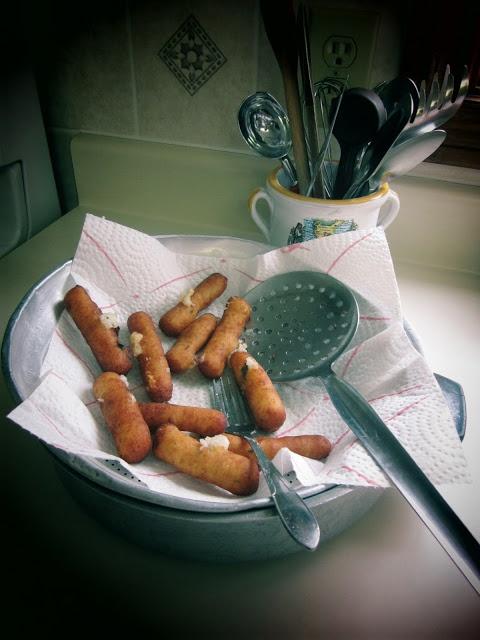 Braciole di patate calabrese - italian potato croquettes
