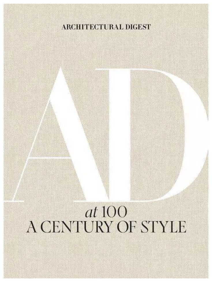 Architectural Digest at 100: a Century of Style en 2020 | Free