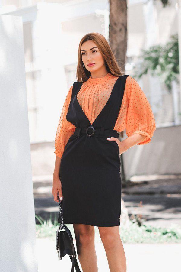 Salopete Mari Preta em 2020 | Moda, Looks moda, Moda feminina