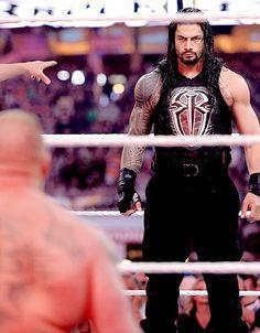 Roman Reigns vs. Brock Lesnar at WrestleMania 31