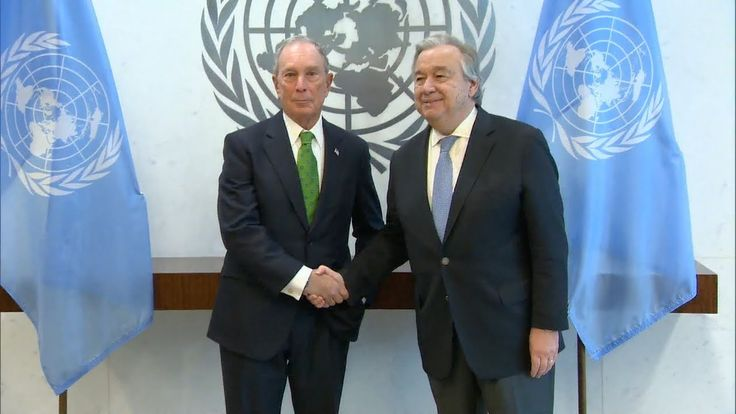 Michael Bloomberg appointed as UN Special Envoy for Climate Action