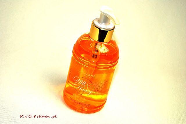 R'n'G Kitchen: Zmiękczające mydło do rąk w płynie Milk & Honey Go...