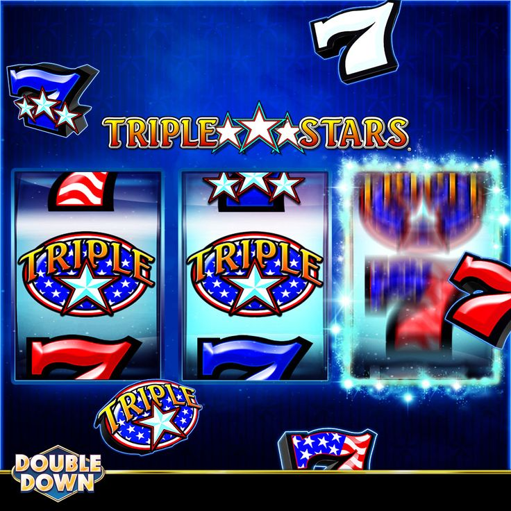 (EXPIRED) Spin red white & blue lucky 7s on a classic 3-reel slot. Play Triple Stars at DoubleDown Casino with 200,000 FREE chips! Just tap the Pinned Link, or use code NDHTXQ