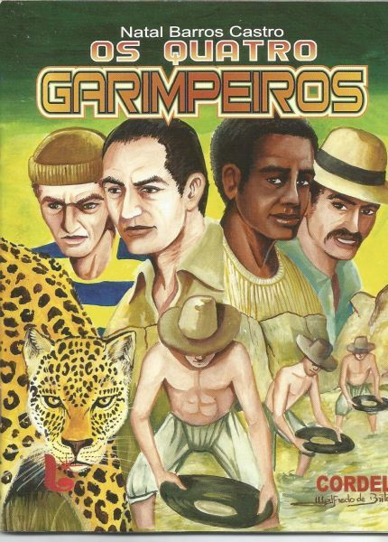 GAEB Grupo Associado De Escritores Brasileiros: Os Quatro Garimpeiros. - Livraria GAEB_Grupo De Es...