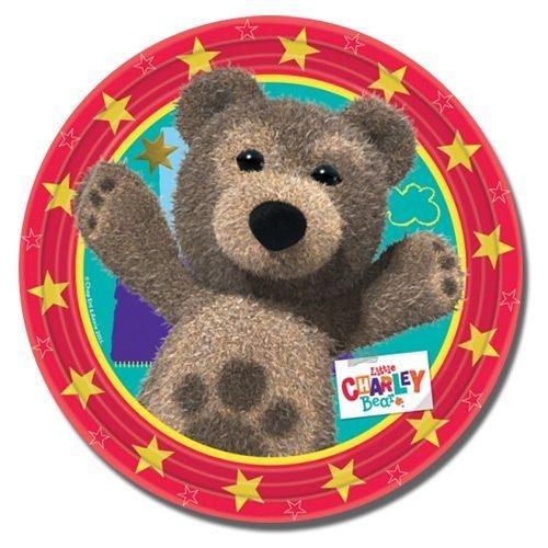 Little Charley Bear Paper Plates 23cm