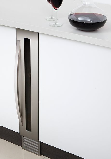 Super Slim Wine Cooler For Your Tiny Nyc Apartment Kitchen