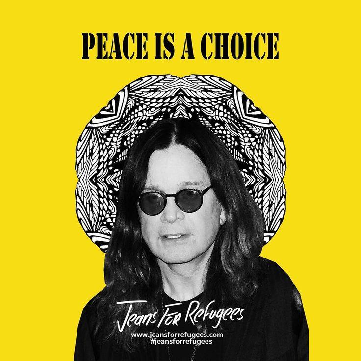 Thanks Ozzy Osbourne for supporting #JeansForRefugees! #YourSupportMeansTheWorld ❤️ #togetherisbetter #refugeeCrisis #ItsUpToUs #johnydarcreations #art #rockstar #songwriter #icon #refugeeswelcome #thankyou #ozzyosbourne #ozzyosbournefans #sunglasses #yellow #summer #ozzyosbournestyle #ozzy #yellow #celeb #rock #blacksabath #band #instagood #instadaily #instafun #cool #charity