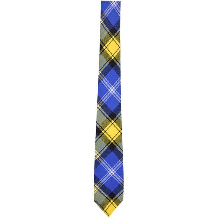 Doddie'5 tartan tie or necktie, made in Scotland | ScotlandShop