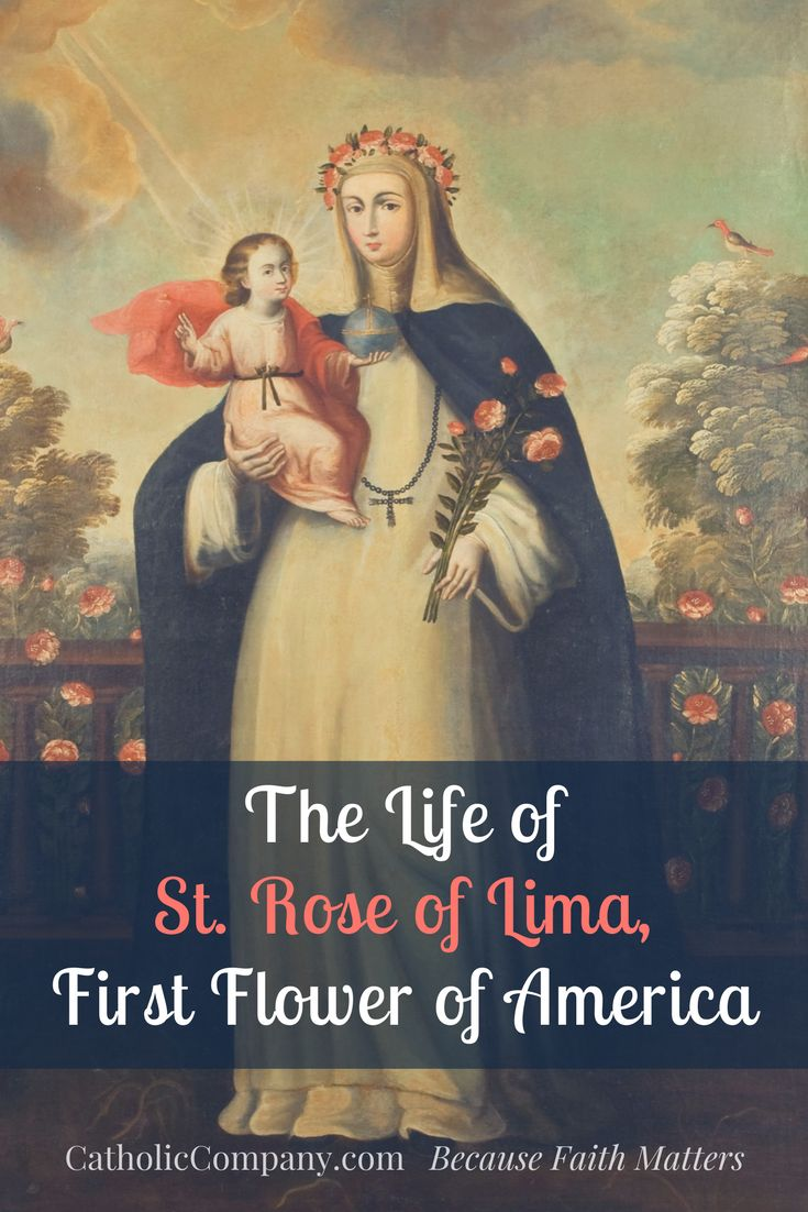 St. Rose of Lima, First Flower of America