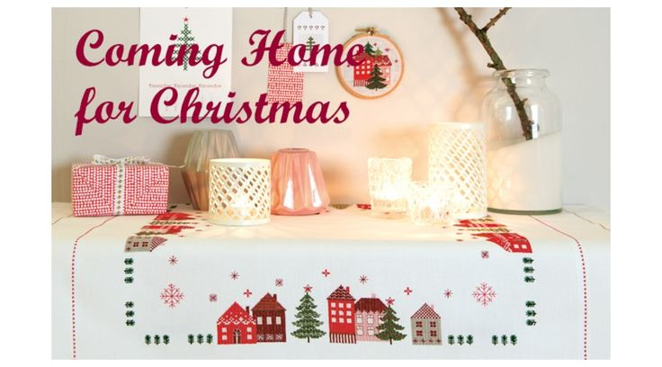 Coming Home for Christmas - Rico keresztszemes mintafüzet 丨 Cérnalányok Kézimunka Webáruház