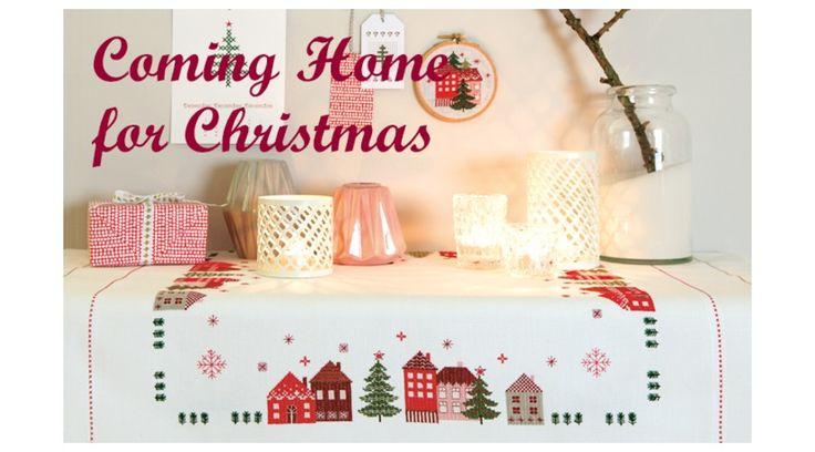 Coming Home for Christmas - Rico keresztszemes mintafüzet 丨 Cérnalányok Kézimunka Webáruház