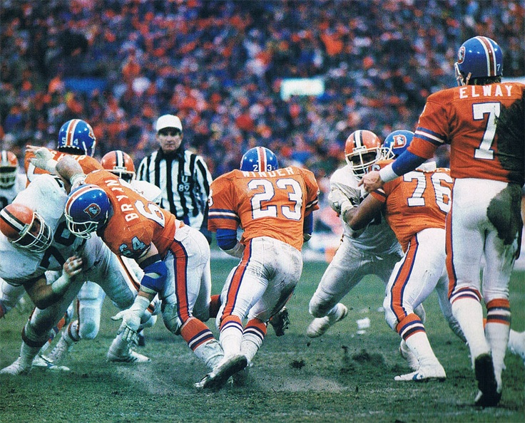 account of the afc championship denver broncos vs cleveland browns January 14, 1990 vs cleveland browns: the blowout the broncos and browns have played in some memorable afc championship games, but this wasn't necessarily one of them.