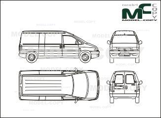Mejores 345 imgenes de fiat blueprints en pinterest fiat scudo box car long blueprints ai cdr cdw dwg malvernweather Images