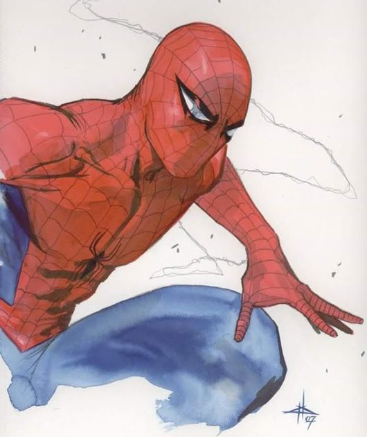 Spider-man art by Gabriele Dell'Otto   ##marvelcomics