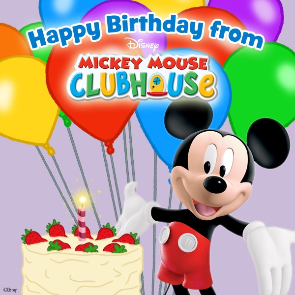15 Best Mickey Mouse/Happy Birthday! Images On Pinterest