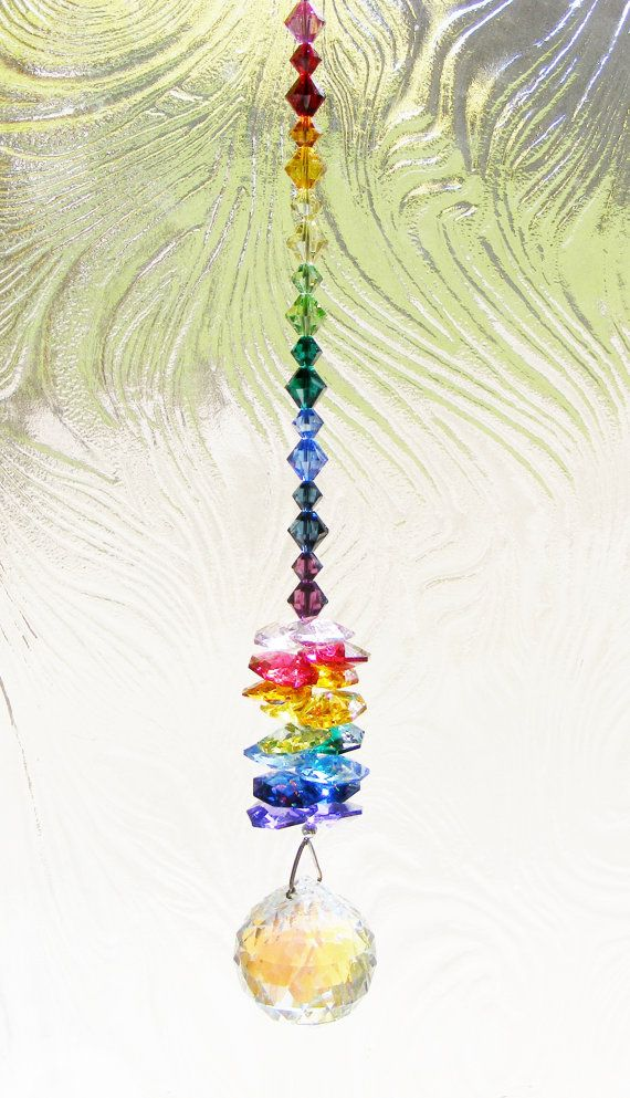 Color Therapy SUNCATCHER And COLOR CHART Sparkle By ChakraMojo 3800
