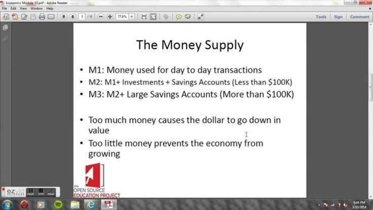 Economics Module 10: The Central Bank & Monetary Policy