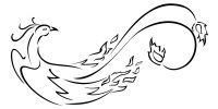 Tatuaggio di Suzaku, Fuoco, buona fortuna tattoo - TattooTribes.com