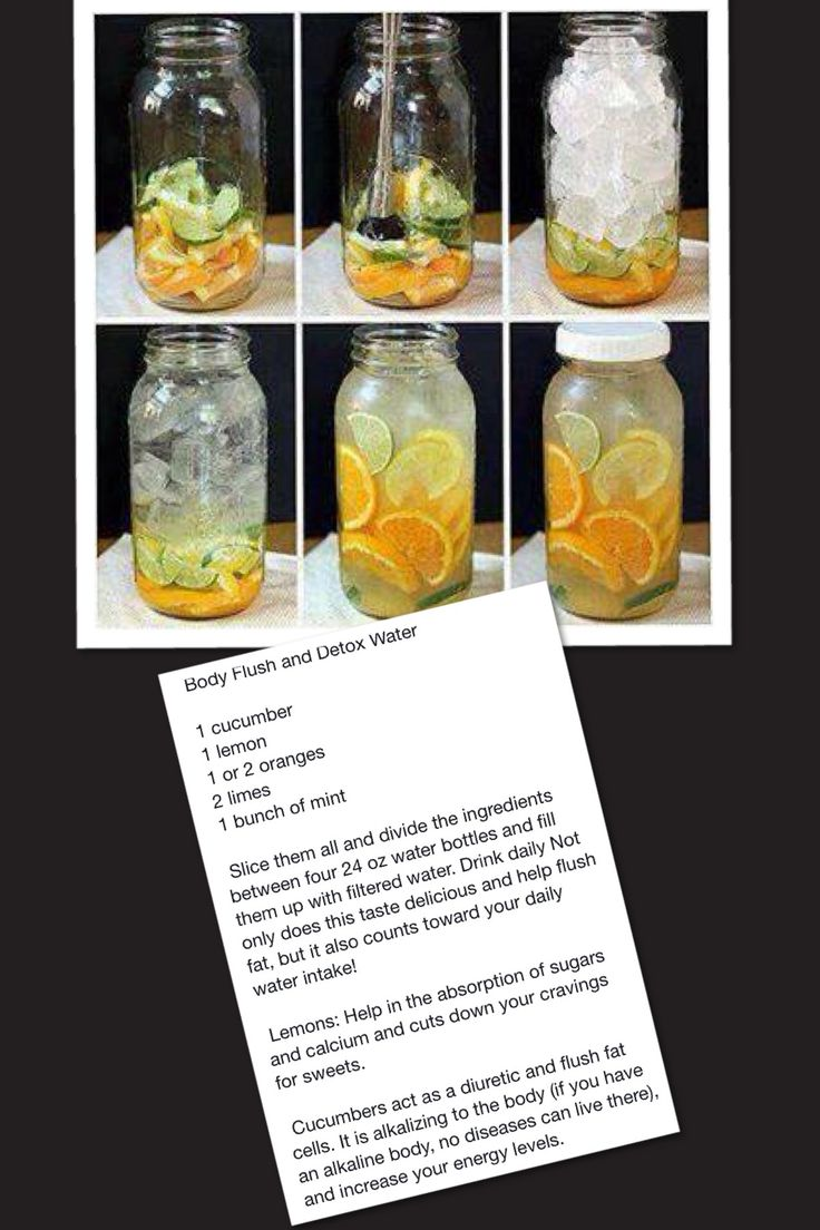 Detox flush cucumber and oranges. Promises to burn fat! Lets try it