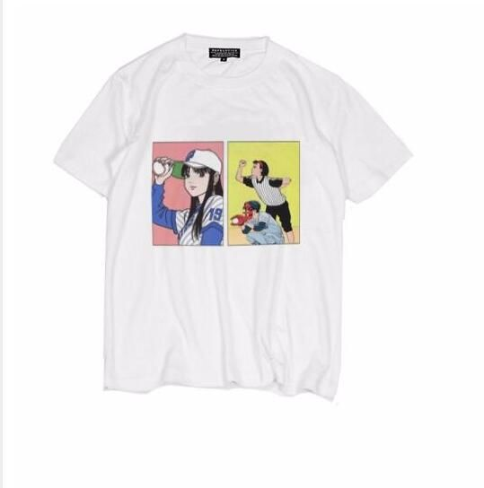 >> Click to Buy << Baseball Girls Japanese manga illustration cotton short-sleeved shirt #Affiliate