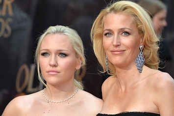 Gillian Anderson And Her Lookalike Daughter Were The Perfect Awards Date