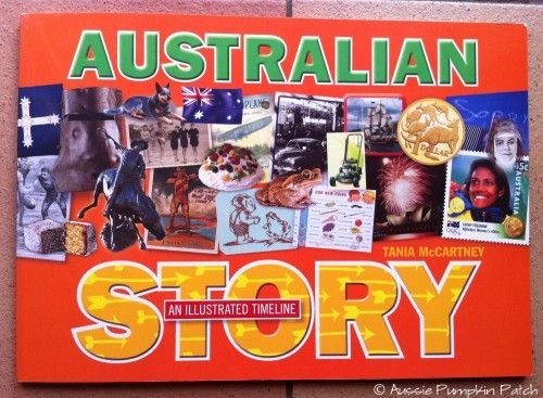Australian Story - An Illustrated Timeline - review at www.thecurriculumchoice.com