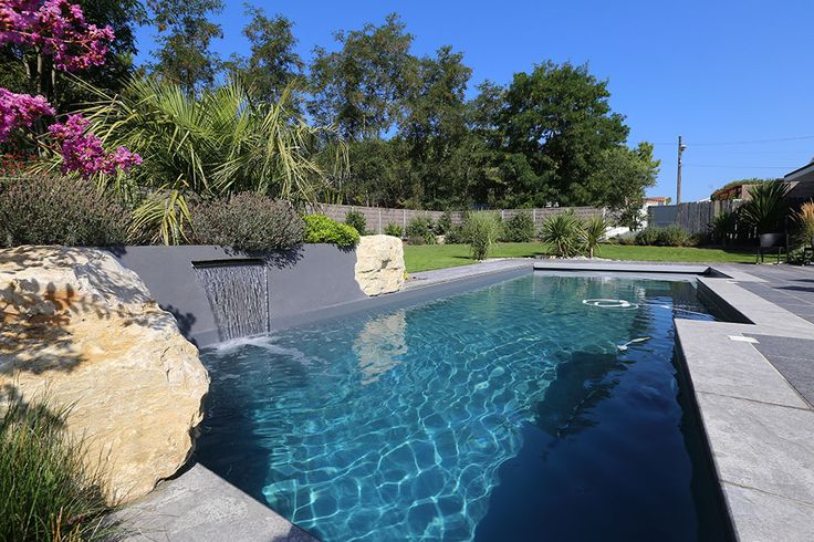 1000 id es sur le th me liner pour piscine sur pinterest for Liner gris anthracite piscine