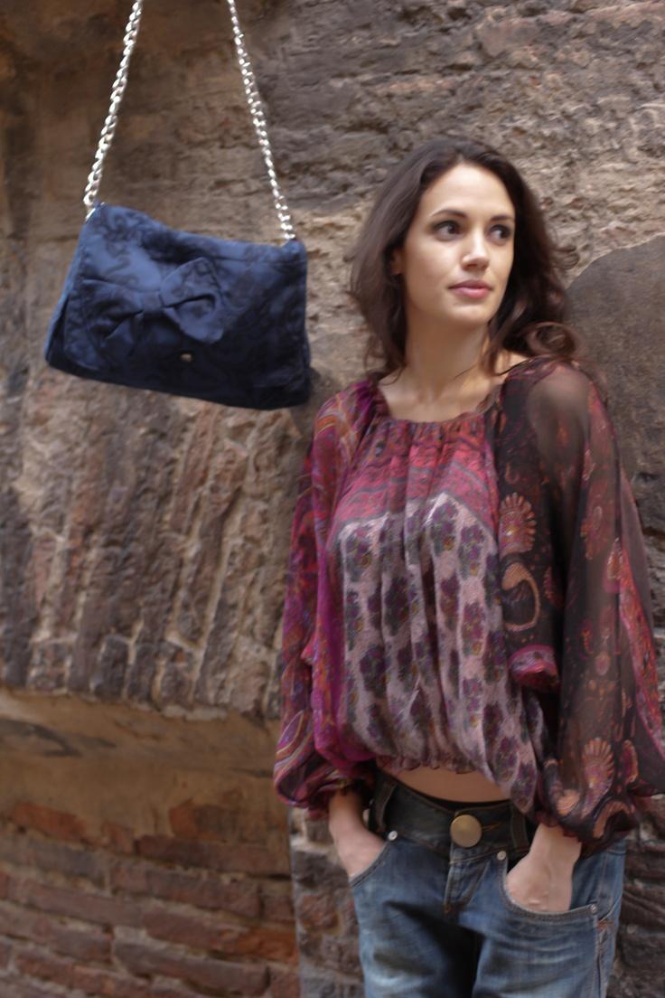 photo:Francesca di Monte stylist:Simona Gambardella mua+hair stylist:Basia Olejniczak modella:Daniella Ganzella location:Matta & Goldoni