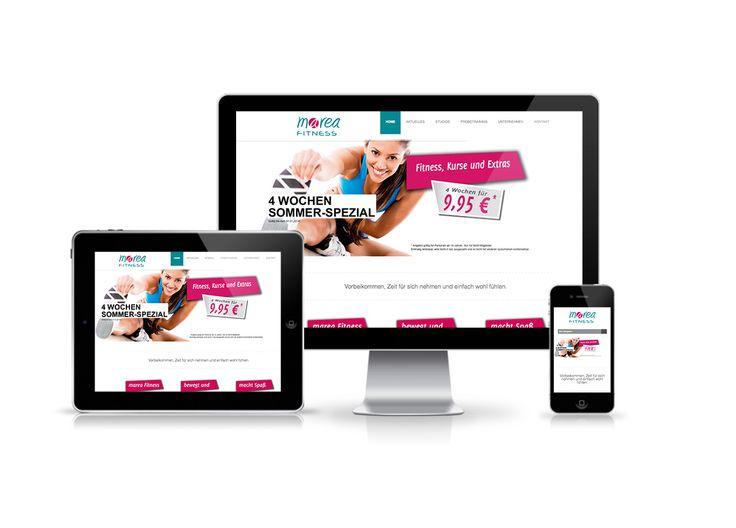 Webdesign: Marea Fitness