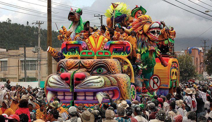 Carnaval de Negros y Blancos de Pasto, Columbia, UNESCO World Immaterial Heritage