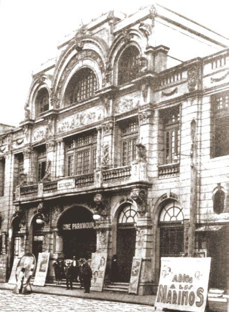 Teatro Paramount Temuco Chile.