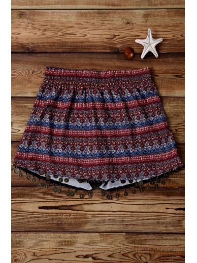 SHARE & Get it FREE | Ethnic Print Wide Leg ShortsFor Fashion Lovers only:80,000+ Items • New Arrivals Daily Join Zaful: Get YOUR $50 NOW!