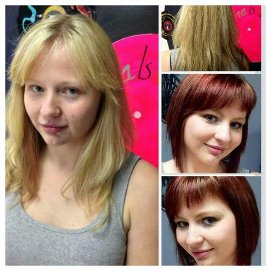 Huge makeover! Goldwell max colors!