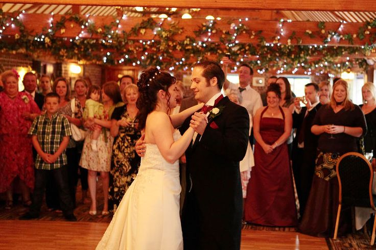 The first dance wedding photograph