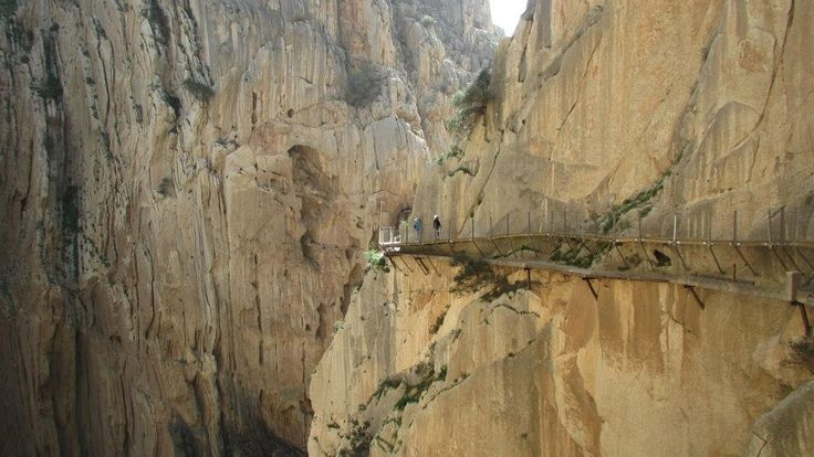 El Chorro, top climbing place, now with a cherry on the top - reopened Caminito del Rey!