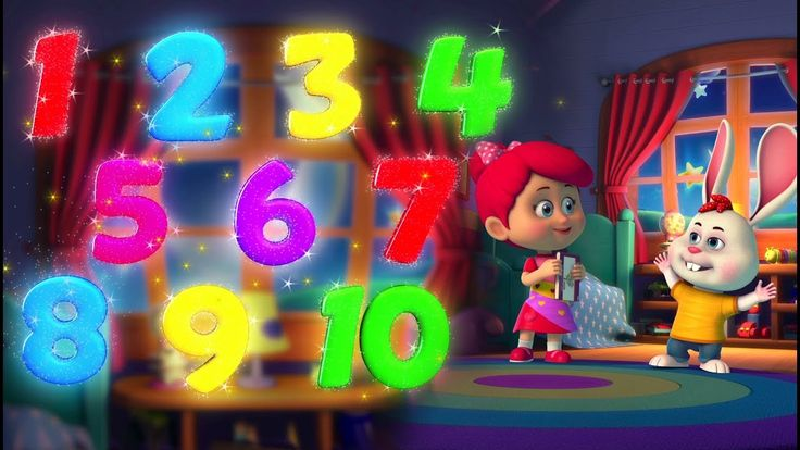 10 Little Numbers Song for Children | Numbers Song from Betty and Bunny