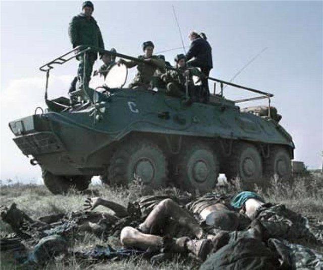 Российская армия в Чечне - Страница 4. Это НЕЛЮДИ.